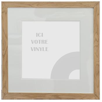 Encadrement Vinyle Chêne Clair
